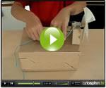 Fabriquer une olienne en carton chez soi vid o - Petite boite en carton a faire soi meme ...