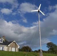 Travailler pour les éoliennes pour particulier
