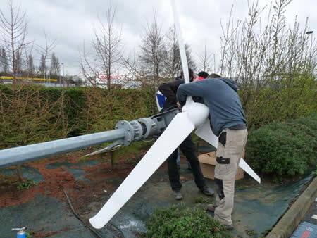 Installation éolienne Braun3 par GR Energies