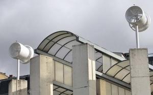 Eolienne intégré à la Maison de l'Air