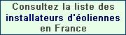 Liste des installateurs d'éoliennes en France