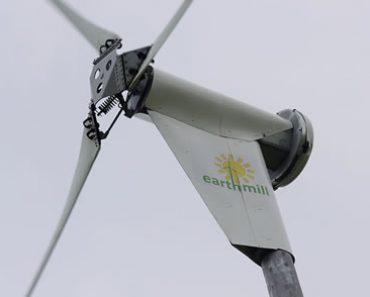 Système de sécurité d'une éolienne