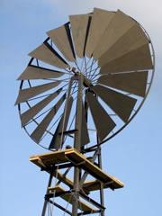 Utilisation des éoliennes de pompage