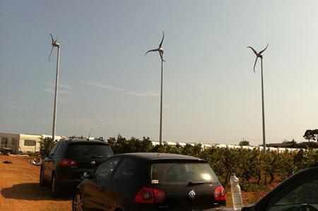 Mini parc éolien - Florensac