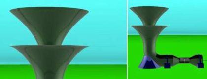 Éolienne souterraine Invelox
