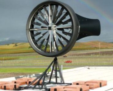 Éolienne Windtronics sur toit